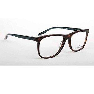 Óculos Armação T-Charge T6101 G21 Marrom Tartaruga Masculino