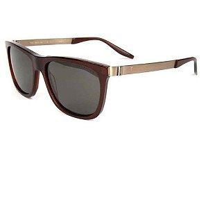 Óculos Solar T-Charge T9077 T01 Marrom Translucido Masculino