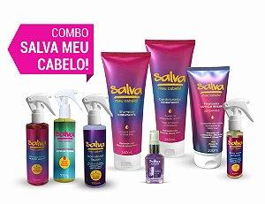 COMBO SALVA MEU CABELO! completo (GANHE 01 Shampoo de Proteção Solar Therapy 300ml)