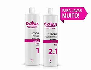 COMBO PRA LAVAR MUITO! (Shampoo + Condicionador de 1L)