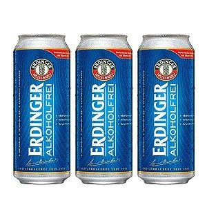 Combo de Cerveja Sem Álcool Erdinger Sport - 3 UN Lata 500 ml - Alemanha