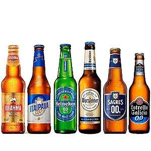 Kit de Cervejas Sem Álcool - 0.0 - 6 Unidades