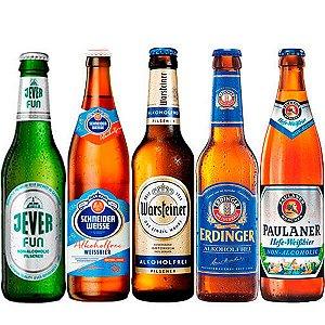 Kit de Cervejas Sem Álcool - As Alemãs - 5 Unidades - Alemanha