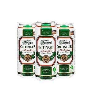 Combo de Cerveja Sem Álcool Oettinger - 3 UN Lata 500 ml - Alemanha