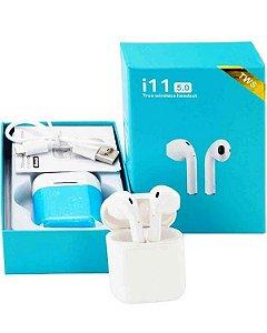 Fone De Ouvido Tws I11 Sem Fio Bluetooth 5.0 Touch