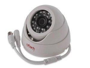 Câmera Dome Ípega KP-CA139 AHD-M FullHD 2MP 4 em 1 (AHD, TVI, CVI e analógicas) Lente 3.6mm, IR 24 Leds