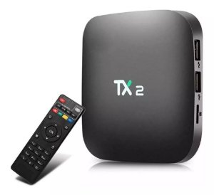 Conversor Smart Tv Box Tx2 2GB Ram 16GB Rom Bluetooth Android 7.1