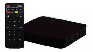Conversor Smart TV 4GB Ram 8Gb Armazenamento Android 9.0 Netflix