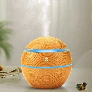 Aromatizador Difusor De Aromas Elétrico Usb Led 7 Cores