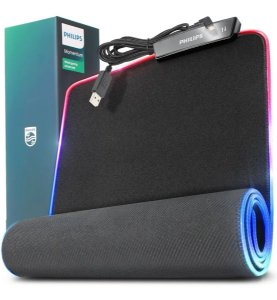 Mouse Pad Gamer Grande 80 X 30 Cm Mousepad Iluminado Led Rgb