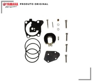 REPARO DO CARBURADOR YAMAHA 40XMHS