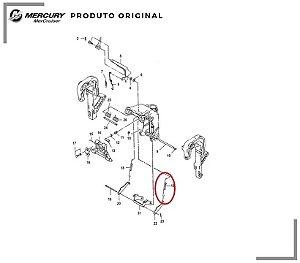 MOLA DO CAVALETE MERCURY 40HP 3 CILINDROS