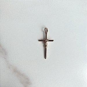 Pingente Semijóia Crucifixo