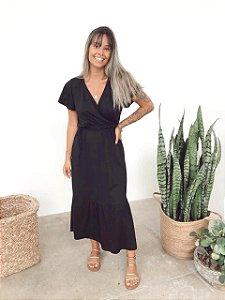 Vestido Sardenha Preto
