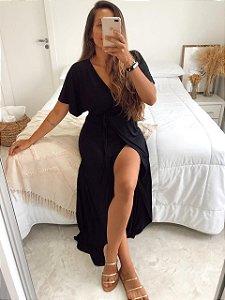 Vestido Toscana Preto