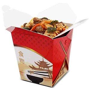 CH1B - 100 unid - Caixa Box para comida chinesa - 1 litro