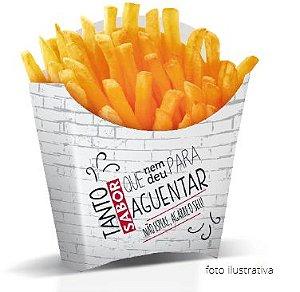 F2 - 100 unid -  Embalagem para batata fritas e pequenas porções padrão