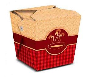 CH1A - 5 unid - Caixa Box para comida 850 ml