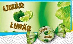 Trufa sabor limão 15 x 16 cm - Pct 100 unidades