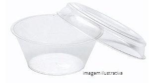 PW62/TWH - 160 unid - Pudim 100 ml forneavel com tampa Pet