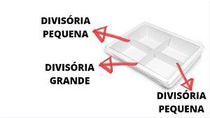 DPBD5- 100 unid - Divisória para a bandeja BD5 pequena