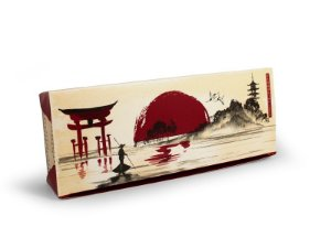 C01 - 100 unid - Embalagem para comida japonesa pequena