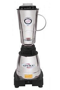 Liquidificador Spolu Luxo 1,5 L 220V Alta Rotação Copo Inox SPL-062