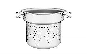 Cozi-Pasta Tramontina Solar em Aço Inox Alças Baquelite 8 L Tramontina Solar 24cm 62514/240