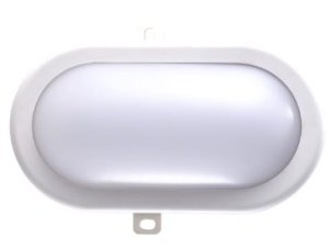 Luminaria LED Tartaruga Branca 12W 6500k Externa
