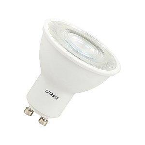 Lâmpada LED PAR16 alto fluxo HO OSRAM 6W 525 lúmens (substitui 50W) - Luz amarela 3000K - Bivolt - Base GU10 - 7014418