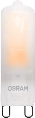 Lâmpada LED PIN Fosca OSRAM 2W 190 lúmens (substitui 10W) - Luz Amarela 2500K - 220V - Base G9 - 7015455