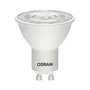 Lâmpada LED PAR16 OSRAM Dimerizável 5W 470 lúmens (substitui 45W) - Luz amarela 3000K - 127V - Base GU10 - 7013843