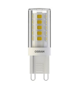 Lâmpada LED PIN OSRAM 3W 300 lúmens (substitui 28W) - Luz branca  6500K - 220V - Base G9 - 7014991