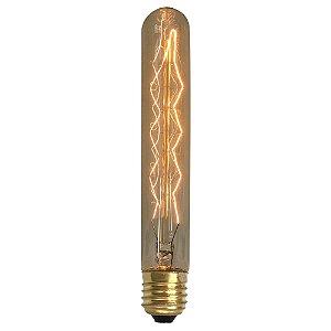Lâmpada de Filamento de Carbono T30*185 Chandelier Z Deco 40W 110V T30*185-CZD-40W-220V