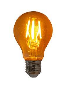 Lampada de Filamento LED A19 Squirrel Cage 4W Bivolt