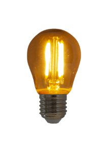 Lâmpada de Filamento LED Bolinha G45 Bivolt E27 4W