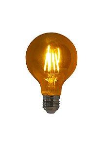 Lampada de Filamento LED G80 Squirrel Cage 4W Bivolt LG95-SC-4W