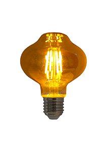 Lampada de Filamento LED L80 Squirrel Cage 2,5W Bivolt LST64-SC-4W