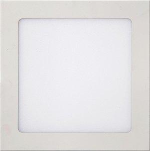 Luminária LED SOB QD SLIM 18W 22,5CM 6K  REF:10380