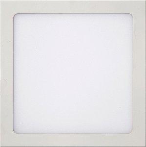 Luminária LED SOB QD SLIM 24W 30CM 6K  REF:10383