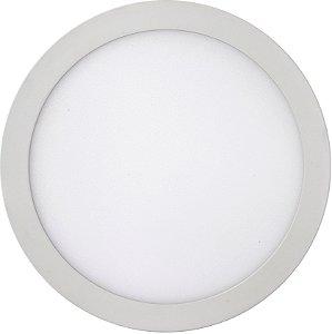 Luminária LED SOB RED SLIM 24W 30CM 6K  REF:10410