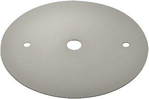 Canopla Plana para Trilho de Sobrepor - Satin Silver REF: SD1000ST
