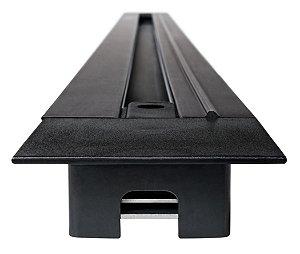 Trilho de Embutir 1,5m - Preto REF: SD1915PTO