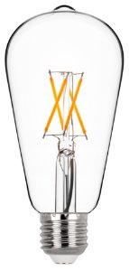 ST64 Filamento Vidro Translúcido 4w 2700k Biv REF: STH7212/27