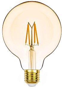 G95 Balloon Filamento Vintage Dimerizável 4,5w 2400k 127v REF: STH8281/24