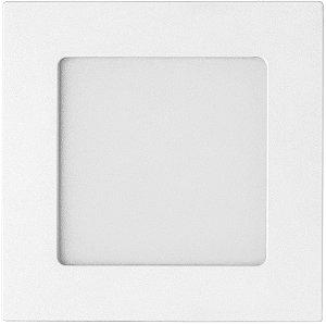 Painel LED Embutir Quadrado 6w 6500k Biv REF: STH9951Q/65