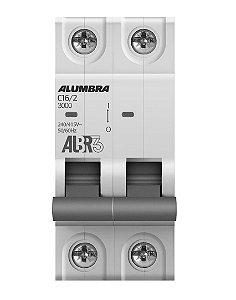 DISJUNTOR BIPOLAR ALBR3 C16/2 REF: 39342