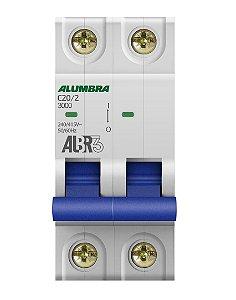 DISJUNTOR BIPOLAR ALBR3 C20/2 REF: 39343