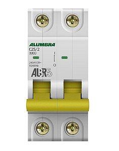 DISJUNTOR BIPOLAR ALBR3 C25/2 REF: 39344