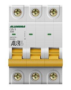 DISJUNTOR TRIPOLAR ALBR3 C25/3 REF: 39444